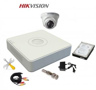 Trọn Bộ 1 Camera HIKVISION Độ Nét HD 1.0 MP