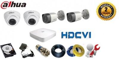Trọn bộ camera Dahua HD-CVI 1.0 Megapixel