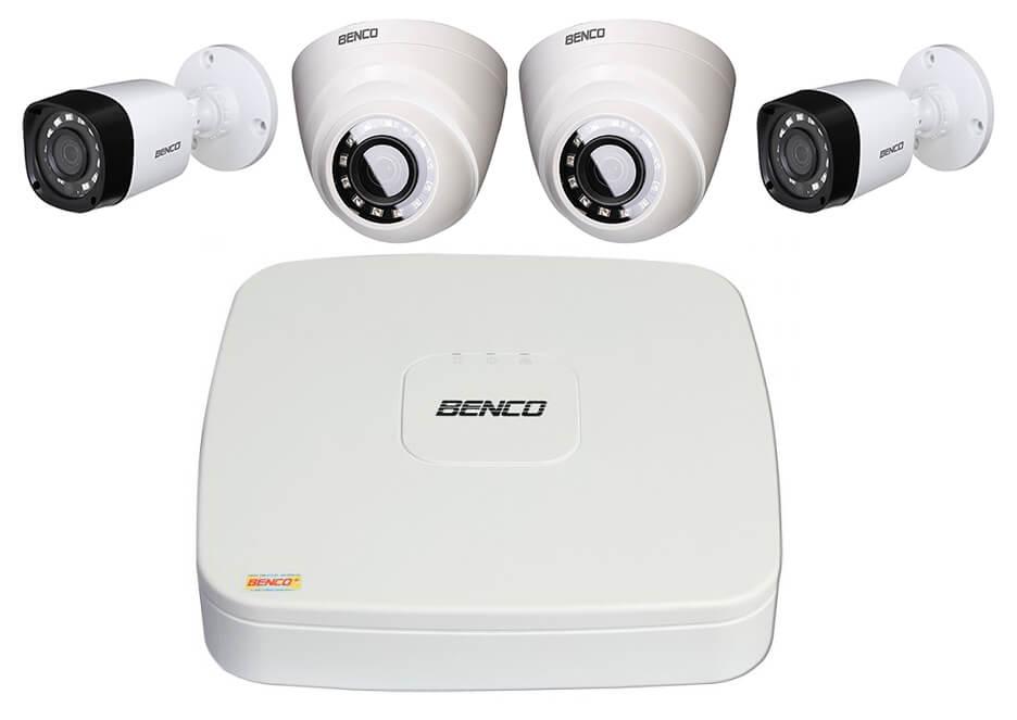 Lắp đặt camera Benco 1.0 Megapixel